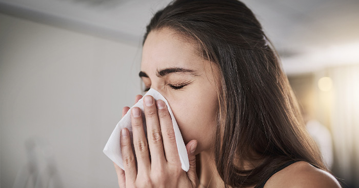 Avoid Coughing or Sneezing in Your Hands